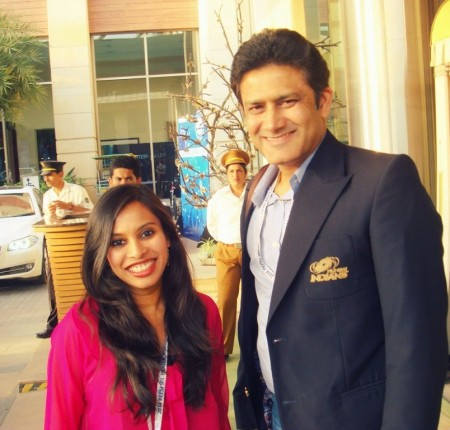 With Kumble